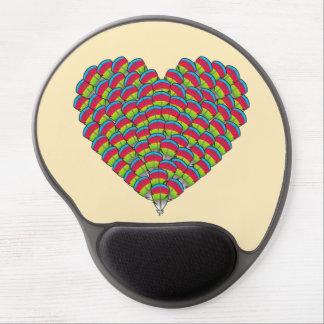 Hawk-headed Heart Gel Mousepads