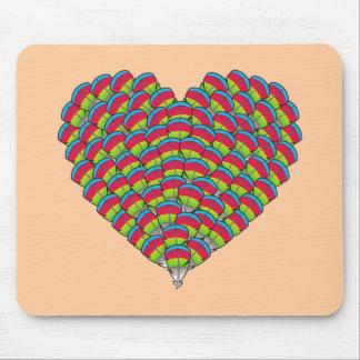 Hawk-headed Heart Mousepads