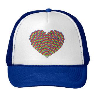 Hawk-headed Heart Trucker Hat