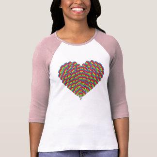 Hawk-headed Heart T-shirts