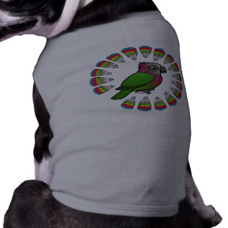 Hawk-headed Parrot Feather Circle Pet Clothing