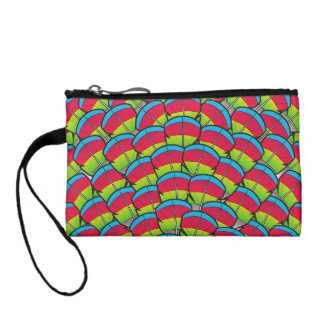 Hawk-headed Parrot Feathers Coin Wallet