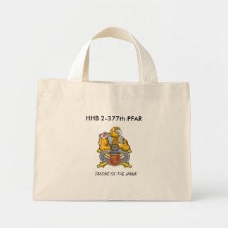 HAWK, HHB 2-377th PFAR, TALONS OF THE HAWK Mini Tote Bag