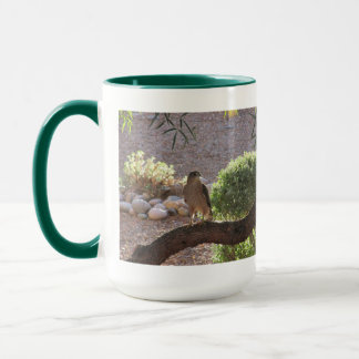 Hawk in a Tree Mug