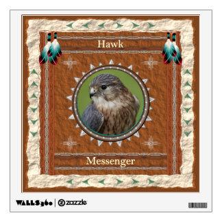 Hawk  -Messenger- Wall Decal