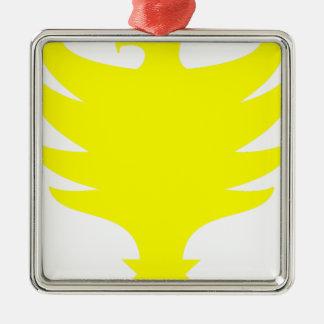 Hawk Metal Ornament