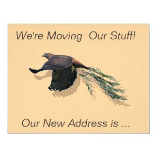 Hawk Moving Card