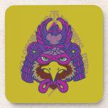 hawk falcon samurai japan auspicious symbol 鷹 武士 侍 日本 強さ シンボル strength toughness power 象徴 マーク vigour honor 和風 イラスト ポップ illustration pop