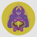 hawk falcon samurai japan auspicious symbol 鷹 Warrior Samurai Japan Strength Symbol strength toughness POWER Symbol Mark vigour honor Japanese style Illustration Pop
