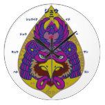 hawk falcon samurai japan auspicious symbol 鷹 武士 侍 日本 強さ シンボル strength toughness power 象徴 マーク vigour honor 和風 イラスト ポップ