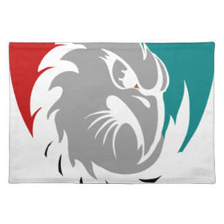 Hawk Security Protection Shield Placemat