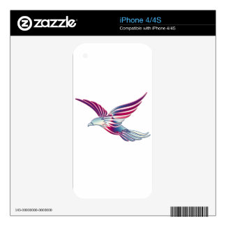 Hawk Decals For The iPhone 4S