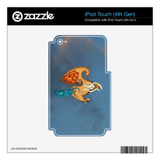 Hawk iPod Touch 4G Decals