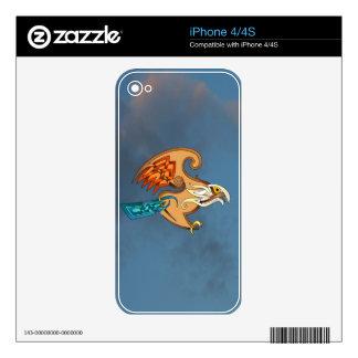 Hawk iPhone 4S Skin