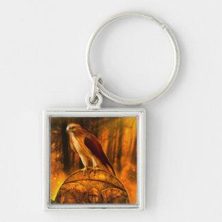 Hawk Spirit Keychain