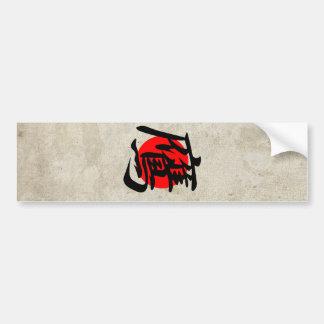 Hawk - Taka Bumper Sticker