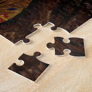 Hawk Whisper Native Girl & Hawk Jigsaw Puzzles