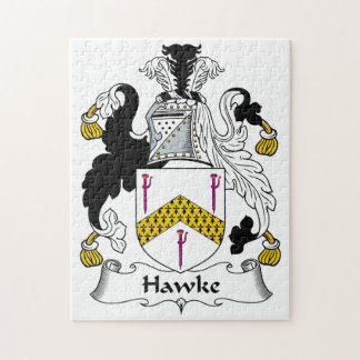 Hawke Family Crest Puzzles