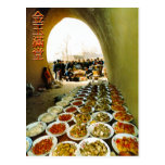 Hawker food postcard