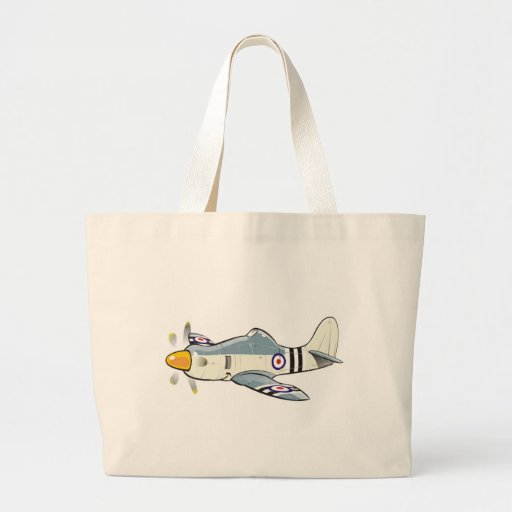 hawker fury caricature canvas bags