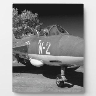 Hawker Hunter FGA.78 aircraft. Plaques