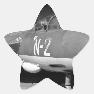 Hawker Hunter FGA 78 aircraft Star Stickers