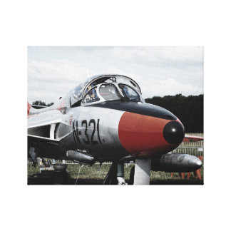 Hawker Hunter print on canvas