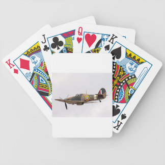 Hawker Hurricane Bicycle Playing Cards