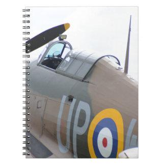 Hawker Hurricane Cockpit Notebook