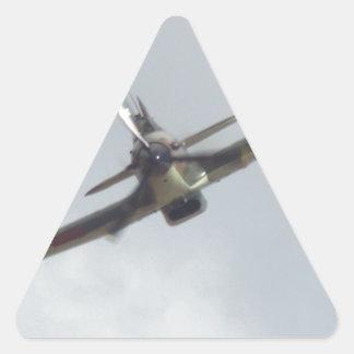 Hawker Hurricane `Last of the many' Triangle Sticker
