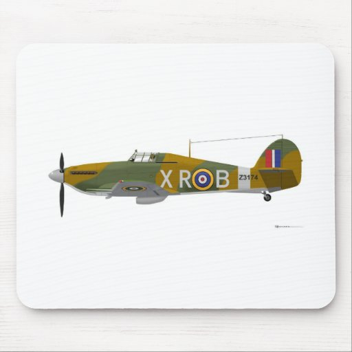 Hawker Hurricane Mouse Pad