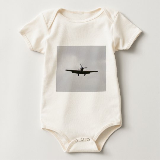 Hawker Hurricane On Approach Baby Bodysuit