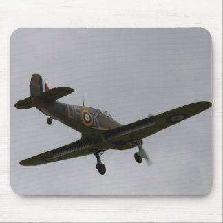 Hawker Hurricane On Finals Mouse Pad