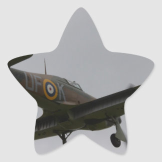 Hawker Hurricane On Finals Stickers