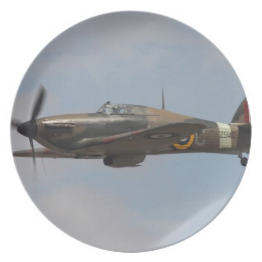 Hawker Hurricane Party Plates