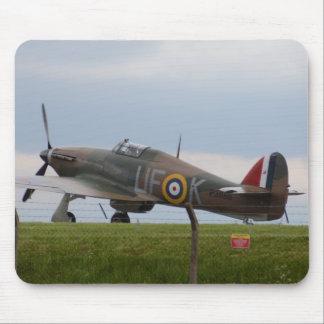 Hawker Hurricane Three Quarter View Mouse Pad