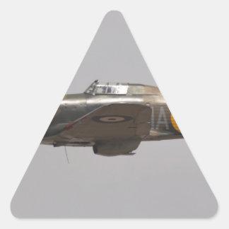 Hawker Hurricane Triangle Sticker