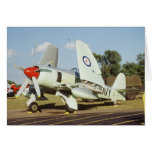 Hawker Sea Fury at CAF, Minnesota Wing, at the Card