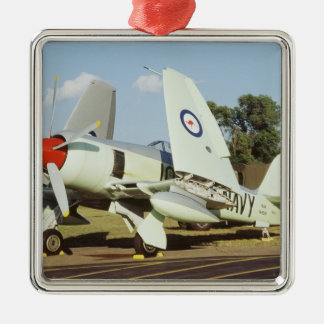 Hawker Sea Fury at CAF, Minnesota Wing, at the Metal Ornament
