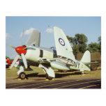 Hawker Sea Fury at CAF, Minnesota Wing, at the Postcard