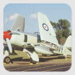 Hawker Sea Fury at CAF, Minnesota Wing, at the Square Sticker