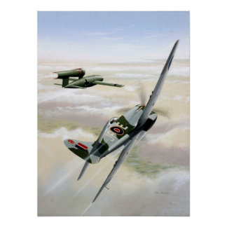 HAWKER TEMPEST POSTER