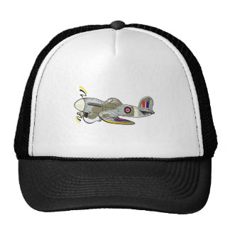 hawker typhoon trucker hat