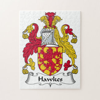 Hawkes Family Crest Puzzle