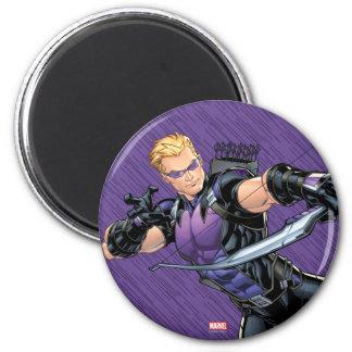 Hawkeye Assemble Magnet
