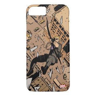 Hawkeye Falling From Window iPhone 8/7 Case