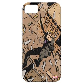Hawkeye Falling From Window iPhone SE/5/5s Case
