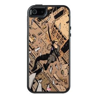 Hawkeye Falling From Window OtterBox iPhone 5/5s/SE Case