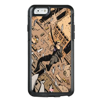 Hawkeye Falling From Window Otterbox Iphone 6/6s Case by avengersclassics at Zazzle