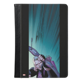 Hawkeye Firing Arrows Comic Panel iPad Air Case